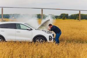 cara mengatasi asap putih pada mesin diesel