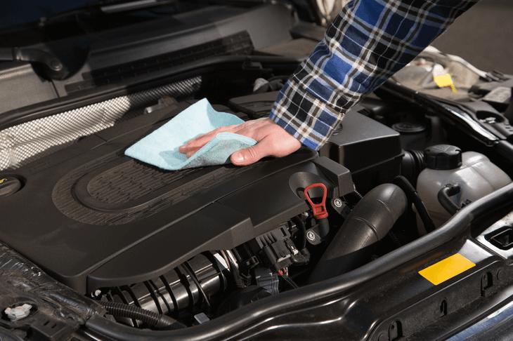 Cara Cuci Mesin Mobil